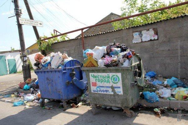 Первомайский подарок от мэрии Симферополя: с улиц города не вывозят мусор (ФОТО), фото-4