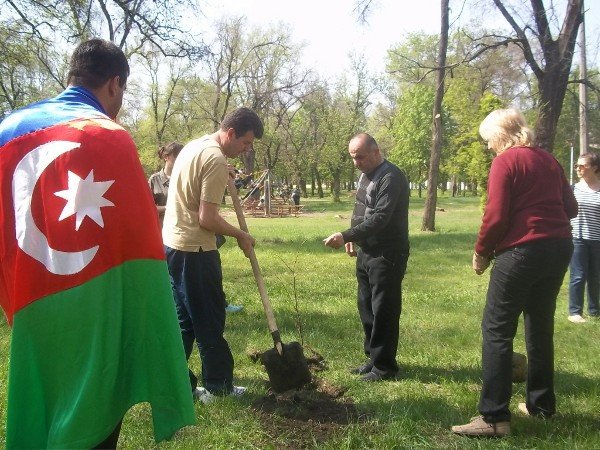 Национальные общины Кривого Рога создали Аллею Дружбы (ФОТО), фото-7
