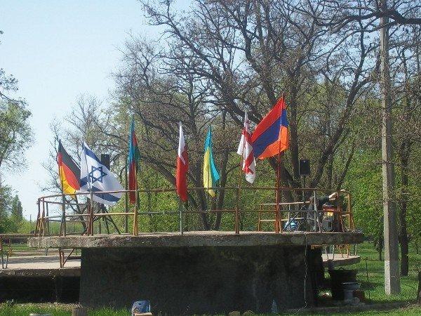 Национальные общины Кривого Рога создали Аллею Дружбы (ФОТО), фото-4