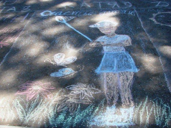 В Артемовске дети украсили парк антивоенными рисунками, фото-9