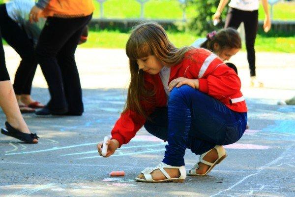 В Артемовске дети украсили парк антивоенными рисунками, фото-2