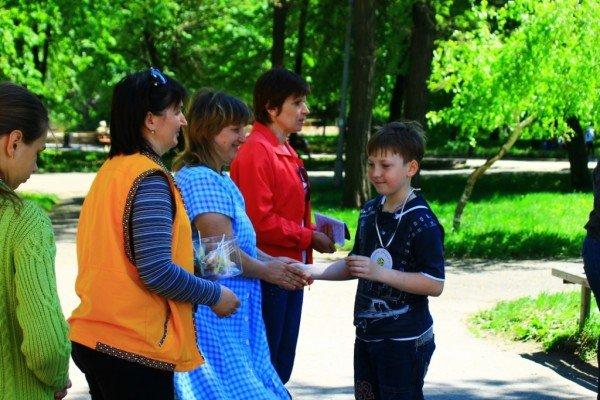 В Артемовске дети украсили парк антивоенными рисунками, фото-7