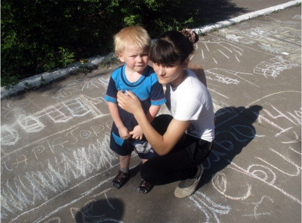 Горловских детей из многодетных семей бесплатно покатали на аттракционах в парке им. Горького, фото-1