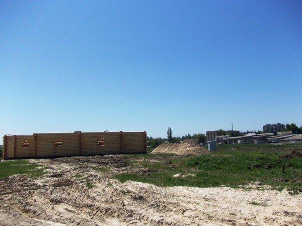 Строительство деревянного храма закончат в сентябре - ко Дню города Артемовска (ФОТО), фото-4