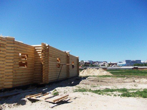 Строительство деревянного храма закончат в сентябре - ко Дню города Артемовска (ФОТО), фото-6