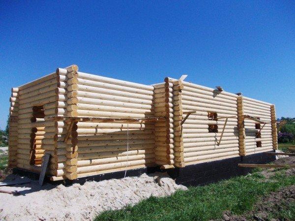 Строительство деревянного храма закончат в сентябре - ко Дню города Артемовска (ФОТО), фото-1