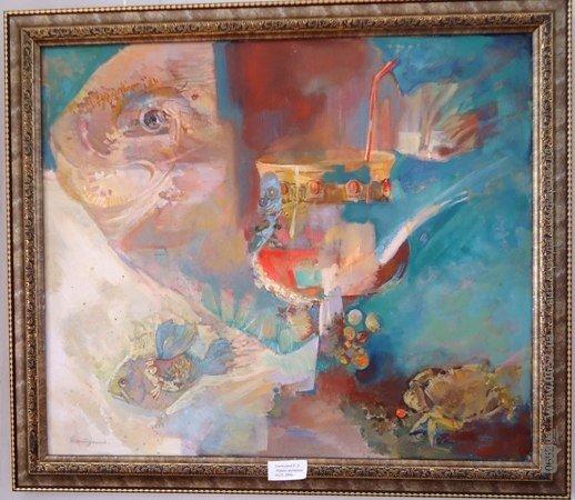 В Симферополе открылась семейная выставка живописи (ФОТО), фото-3