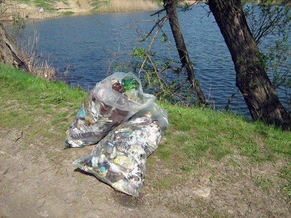 Горловские регионы подарили Кондратьевке чистый водоем, фото-7