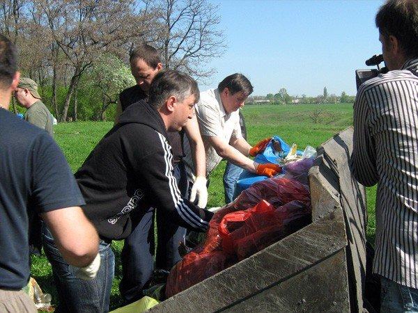 Горловские регионы подарили Кондратьевке чистый водоем, фото-11