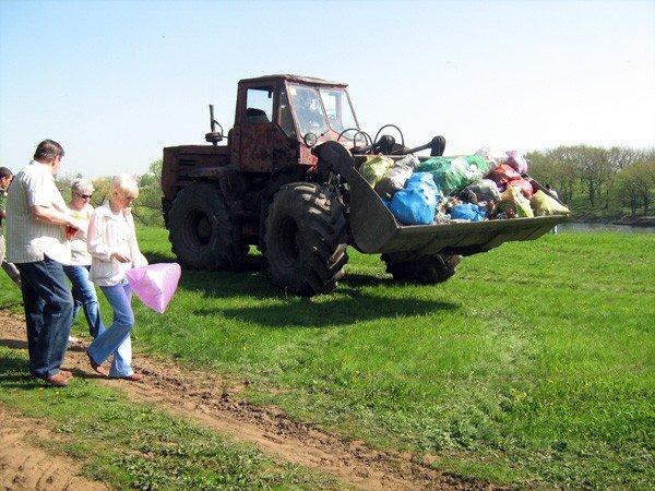 Горловские регионы подарили Кондратьевке чистый водоем, фото-12
