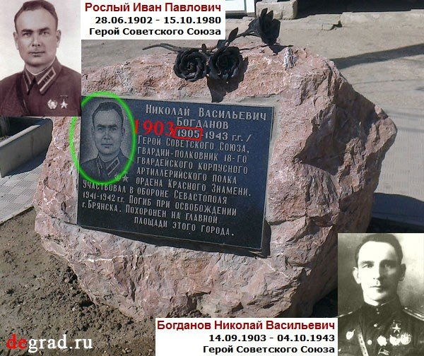 Фотофакт: в Севастополе Героя Советского Союза на памятнике изобразили с чужим лицом, фото-1