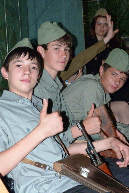 В криворожском Клубе Юных Моряков прошел День солдатской песни (ФОТО), фото-12
