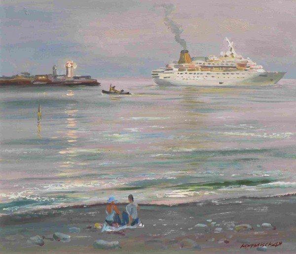 Прогулки у моря Натальи Муравской, фото-3
