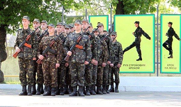 В Донецке новобранцы приняли присягу (фото), фото-6