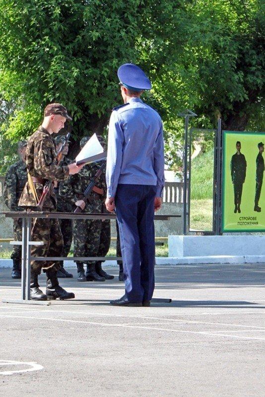 В Донецке новобранцы приняли присягу (фото), фото-1