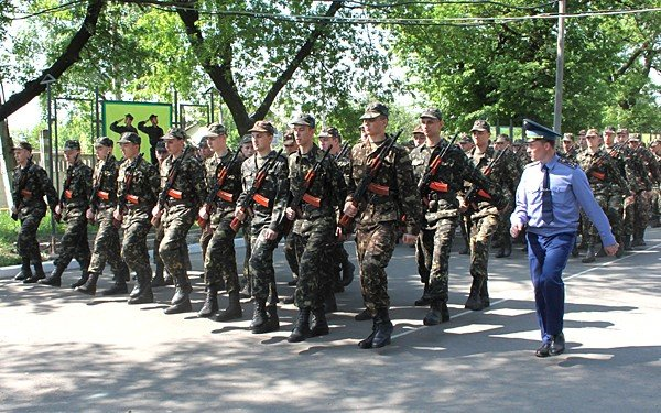 В Донецке новобранцы приняли присягу (фото), фото-7