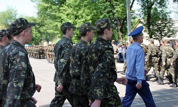 В Донецке новобранцы приняли присягу (фото), фото-8