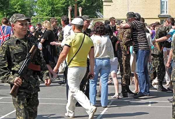 В Донецке новобранцы приняли присягу (фото), фото-9