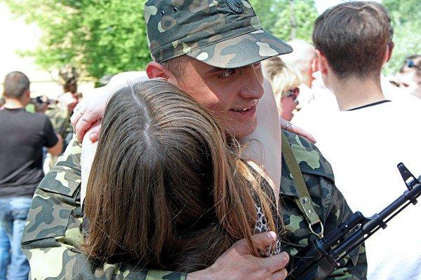 В Донецке новобранцы приняли присягу (фото), фото-10