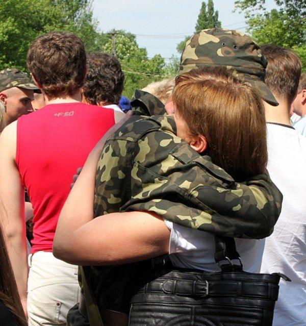 В Донецке новобранцы приняли присягу (фото), фото-11