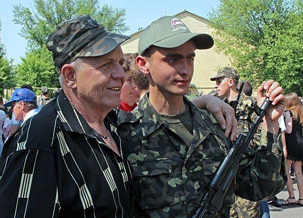В Донецке новобранцы приняли присягу (фото), фото-12