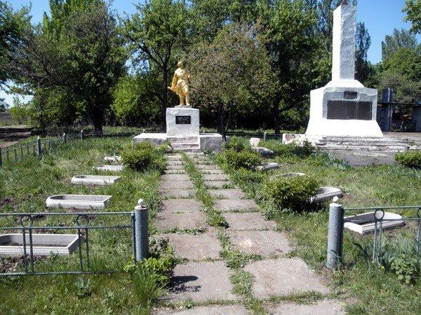 «Регионалы» возродили памятник Воину-освободителю в горловском поселке Гурты, фото-2