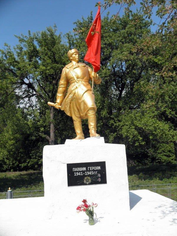 «Регионалы» возродили памятник Воину-освободителю в горловском поселке Гурты, фото-3