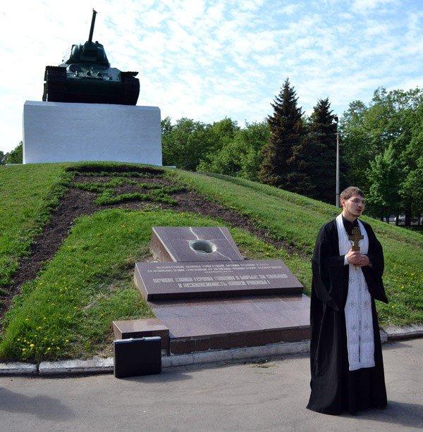 В Горловке прошли панихиды по погибшим защитникам Отечества, фото-2