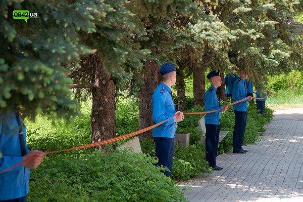 Лента памяти связала памятные места Луганска (ФОТО), фото-10