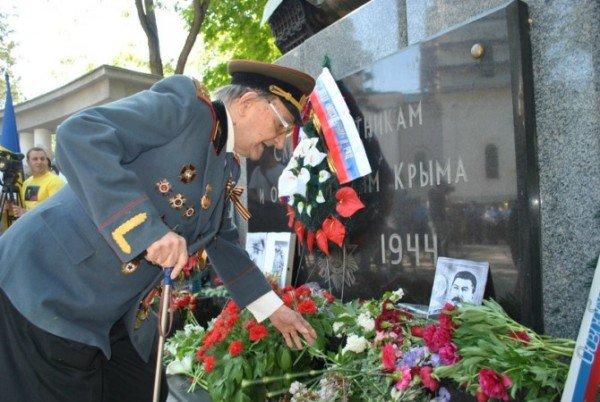 В Симферополе стартовали торжества в честь Дня Победы (фото), фото-1