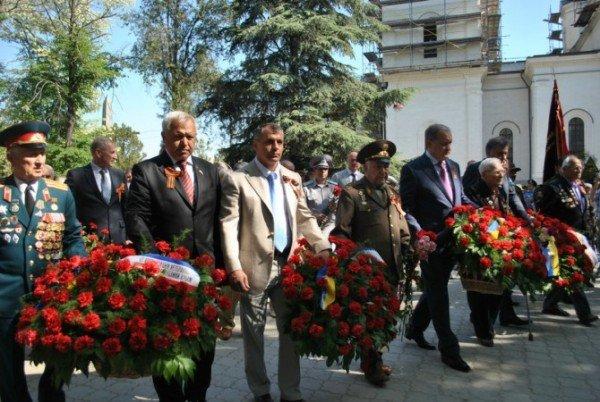 В Симферополе стартовали торжества в честь Дня Победы (фото), фото-2