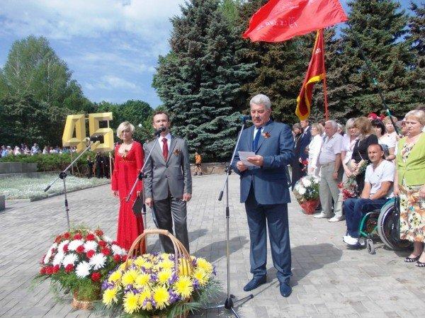 Артемовцы почтили память тех, кто отдал жизнь за Победу (ВИДЕО+ФОТОРЕПОРТАЖ), фото-2