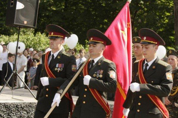 В День Победы криворожских ветеранов угощали фронтовой кашей (ФОТО), фото-7