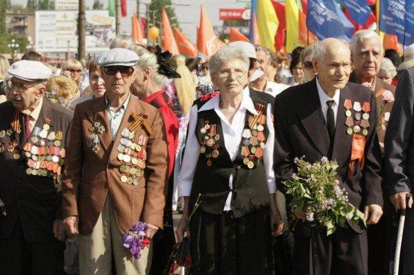 В День Победы криворожских ветеранов угощали фронтовой кашей (ФОТО), фото-8