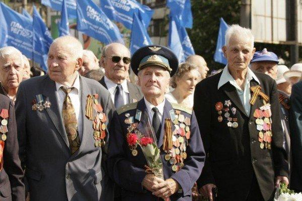 В День Победы криворожских ветеранов угощали фронтовой кашей (ФОТО), фото-9