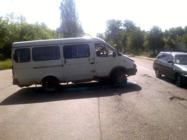 В Донецке в ДТП пострадал полуторогодовалый ребенок (фото), фото-1