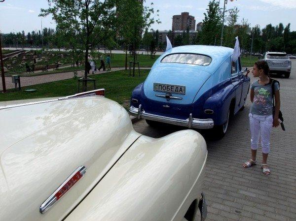 В Донецке прошла выставка ретро-автомобилей  (фото), фото-7