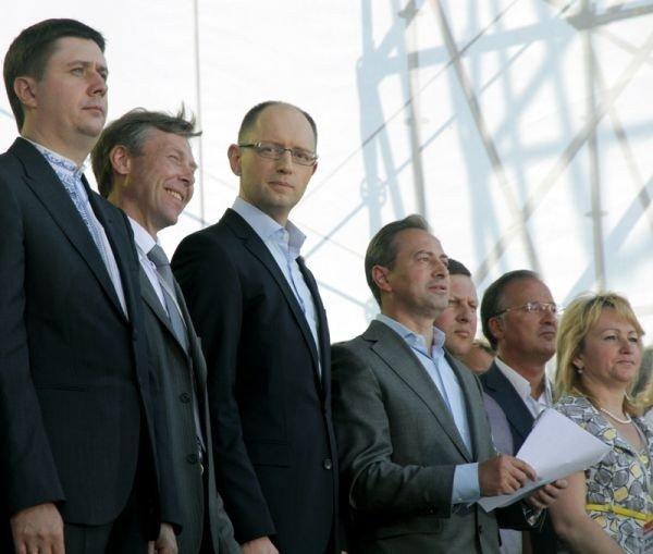 Горловчане присутствовали на форуме объединенной оппозиции, где приняли программу о свержении Януковича, фото-6