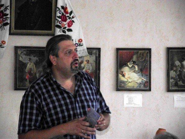 Украинский писатель Сергей Пантюк презентовал в Горловке сборник стихов и роман о войне, фото-2