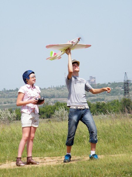 Чудеса на виражах: в Горловке прошли Областные соревнования по авиамоделированию, фото-7