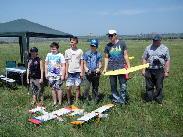 Чудеса на виражах: в Горловке прошли Областные соревнования по авиамоделированию, фото-9