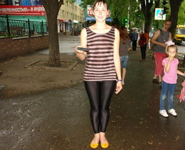 Уличный театр в Кривом Роге сопровождали погодные спецэффекты (ФОТО), фото-8