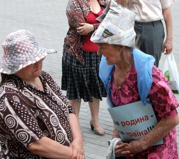 На митинге в Донецке противники гомосексуализма предложили провести гей-парад в Киеве в день ВДВ, «чтобы весело было» (фото), фото-8