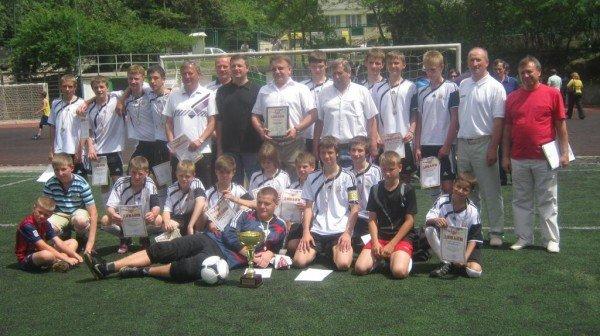 В Ялте наградили победителей городского юношеского чемпионата по футболу, фото-5