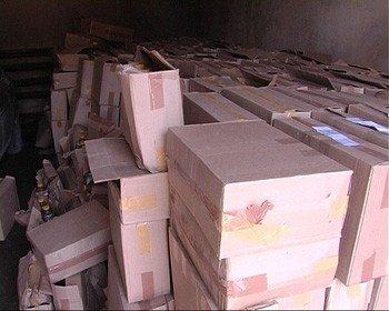 В Донецкой области в гараже хранилось 10 тонн контрабандного спирта (фото), фото-2