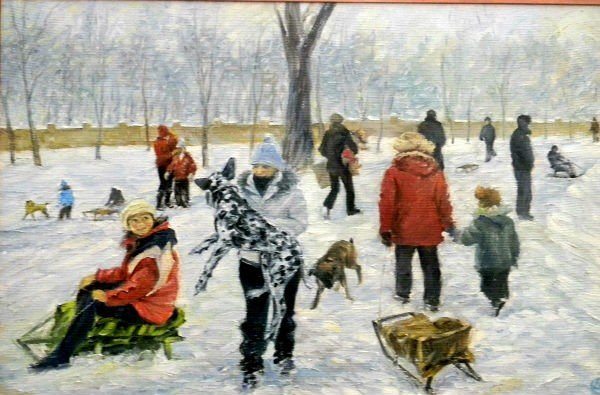 В музее Кривого Рога работает выставка картин Олега Фатченко (ФОТО), фото-2