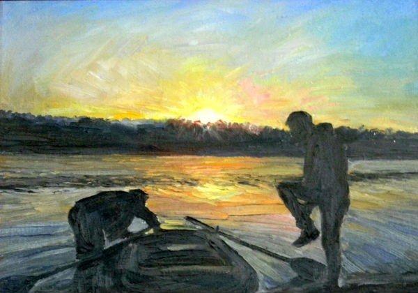 В музее Кривого Рога работает выставка картин Олега Фатченко (ФОТО), фото-8