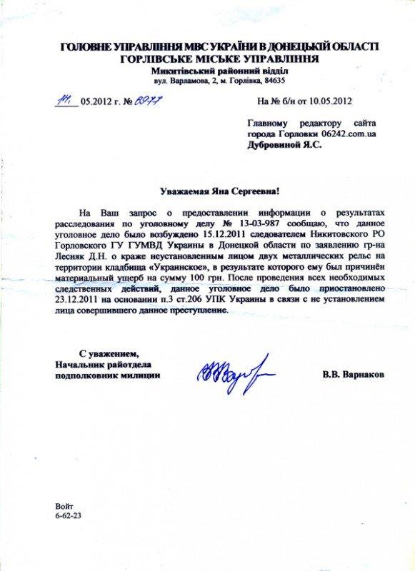 «Расхититель гробниц» написал признание, но сотрудники Никитовского РО Горловки «не могут установить лицо, совершившее преступление», фото-5