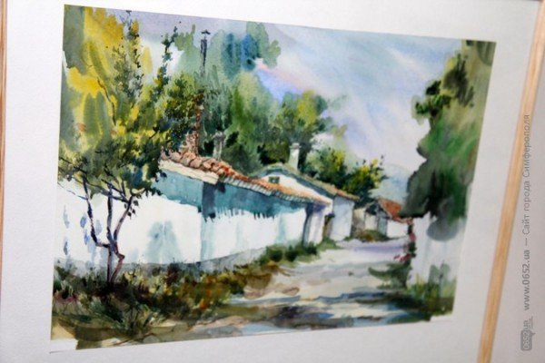 Вдова крымскотатарского художника Рамиза Нетовкина открыла в Симферополе выставку его работ (фото), фото-5