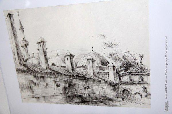 Вдова крымскотатарского художника Рамиза Нетовкина открыла в Симферополе выставку его работ (фото), фото-6